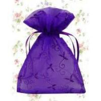 2013 fashion cheap custom made organza bags pouches