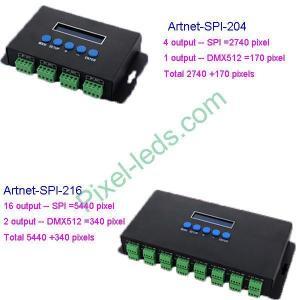 China Artnet-SPI converter MADRIX/Freestyler on sale