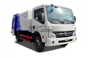 China Dongfeng kpt N300 Compression Garbage Truck on sale