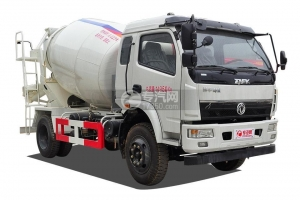 China dongfeng yuhu 5cbm Concrete Mixer Truck on sale