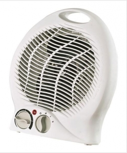 China AISO FH-101 Portable 2-Speed Fan Heater with Thermostat on sale