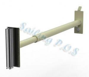 China Shopfittings Almond Adjustable Merchandising Arm for upright on sale
