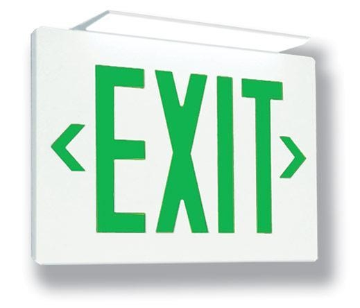 China LED Exit Signs TL Die-Cast