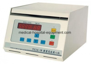 China Benchtop High Speed Micro Centrifuge TG16-W on sale
