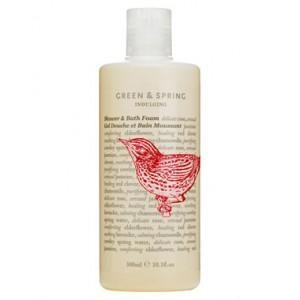 China Indulging Shower & Bath Foam 300ml by Green & Spring on sale