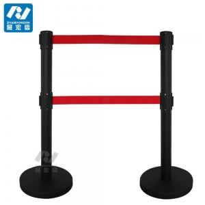 China cheap crowd control stanchions,belt stand for concert on sale