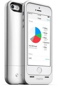 China Mophie space pack is a battery case with built-in storage for iPhone 5/5s on sale