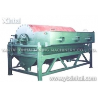 Jaw crusher Permanent fine ore dry drum magnetic separator