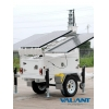 China Mobile Solar Power Trailer VTS600A for sale