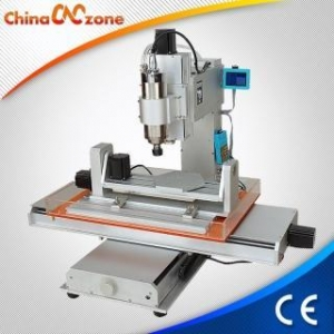 China ChinaCNCzone HY-6040 Small Desktop DIY 5 Axis CNC Machine for Milling Engraving Wood, Brass, Acrylic on sale