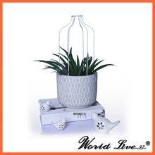 China best selling wholesale new launching garden cement flower pots on sale