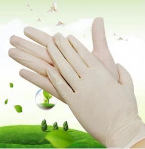 China Latex Exam Glove on sale