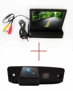 China 4.3 inch CCD Car Monitor Reverse Camera for Hyundai Tucson Accent Elantra Terracan on sale