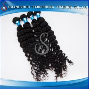 China New Fashion Deep wave hair pieces buns for blacks on sale