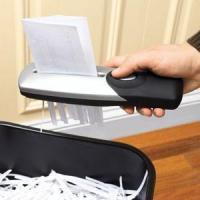 TSTV-021 Hand Held Pager Shredder