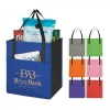 China Imprinted/Personalized Items Non-Woven Shopper's Pocket Tote Bag for sale