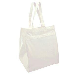 China Valubag Bamboo Shopping Bag W/ Self Fabric Handle (Blank) on sale