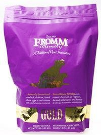 China Fromm Gold Small Breed Dog Food $14.99 on sale