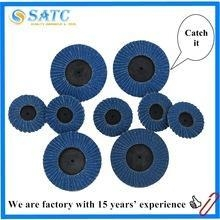 China Mini zirconia abrasive flap disc ,Quick change flap disc for wood on sale