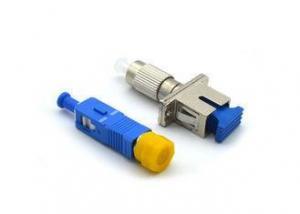 China FC - SC Fiber Optic Attenuator 1 - 30dB FTTH Converter With Metal / Plastic Housing on sale