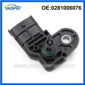 China 4 Pins Auto Intake Air Pressure Sensor For Chevrolet Opel 0281006076 With Best Quality on sale