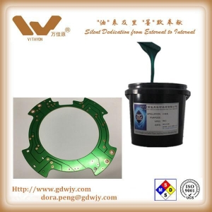 China UV Green Solder Masking Ink for PCB on sale
