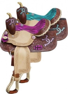 China Barrel Racing Saddles TT5114 on sale