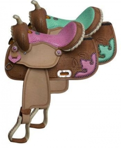 China Barrel Racing Saddles TT5118 on sale