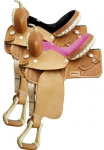 China Barrel Racing Saddles CS1280 on sale