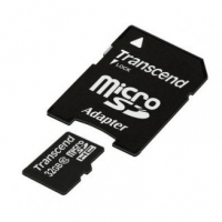 Transcend micro SDHC 32GB class 10 flash memory card