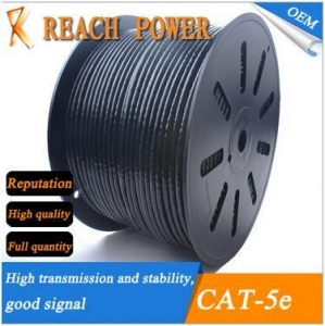 China Cat-5e Lan cable OUTDOOR CAT -5E 4*2*0.5 on sale