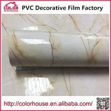 China Marble film self adhesive wall stickers marble film on sale