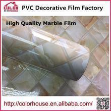 China Marble film self adhesive marble film decorative self adhesive vinyl film on sale