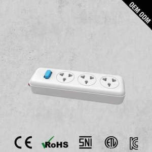 China Top Quality Pop 3 Outlet Overload Protection universal Power Strip on sale