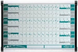 China Aluminum Frame Whiteboards With Printing Iamges on sale