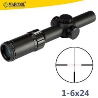 Marcool 1-6x24 Air Soft Military Gun Optical Pellet Telescopic Night For Rifle