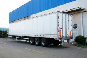 China Aluminum Dry Van Semi-trailer/Three-axle Van Trailer on sale