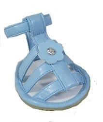 China All Dog Booties Big Dog Sandals - Blue Leather on sale