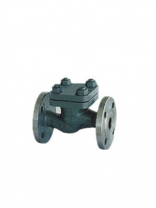 China Marine Cast Steel Flanged Check Valves GB/T 586-1999 on sale