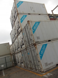 China used 20ft reefer/refrigerated container on sale