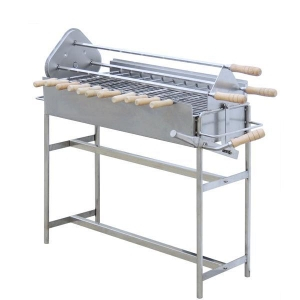 China Inlet/Outlet Bench PE-W03 Rotary Charcoal BBQ on sale