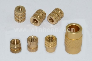 China Custom-precision-brass-inserts-for-plastic on sale