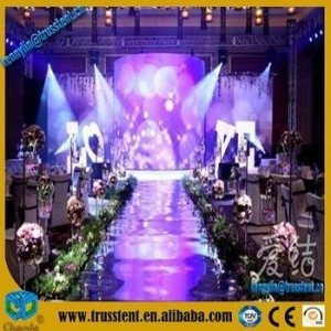 China Lighting led Acrylic stage wedding stage decoration on sale