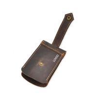 waist leather key holder Multifunctional men