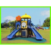 China Kids play New Design Children's PVC Coated Plastic Outdoor Playground for Kindergarten KS-24201 on sale