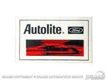 China 1/2x2 1/2 Autolite Decal on sale