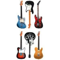 China Fender Guitar Stickers on sale
