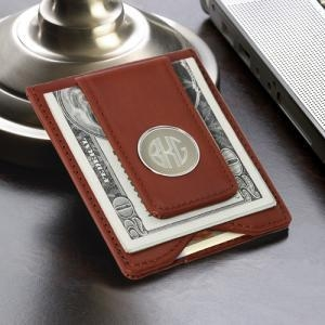 China For Him Leather Money Clip on sale