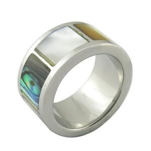 China Steel Rings latest wedding ring designs ceramic ring on sale