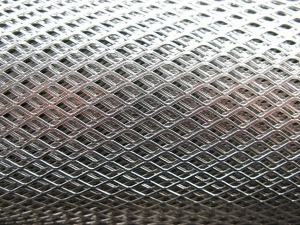 China Aluminum & Steel Expanded Mesh on sale